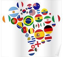 Brasil Nations Poster
