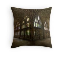 Gloucester Cathedral cloisters Throw Pillow