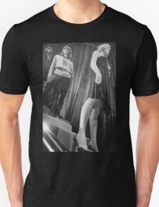 Shop dummy female mannequins black and white 35mm analog film photo T-Shirt