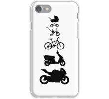 Motorcycle Evolution iPhone Case/Skin