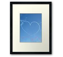 Love is in the air... Framed Print