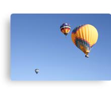 Hot Air Balloon Ride - A Special Adventure  Canvas Print