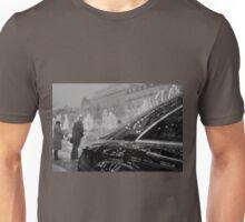 Paris France Champs Elysees Lomo LCA lomographic analog film photograph 35mm Unisex T-Shirt