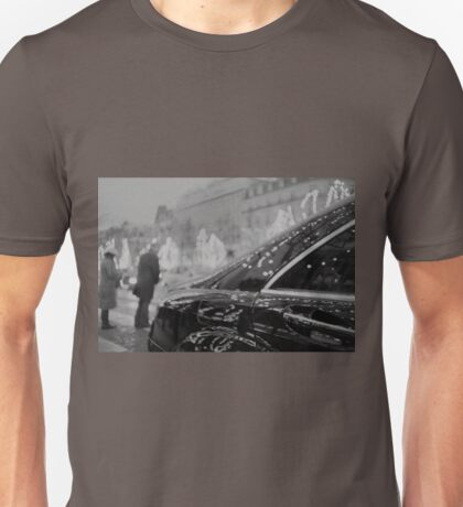 Paris France Champs Elysees Lomo LCA lomographic analog film photograph 35mm Unisex T-Shirt