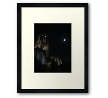 Tower light Framed Print