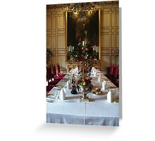 Dinner Party for 12 Greeting Card