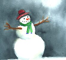 Snowman by Tama Blough