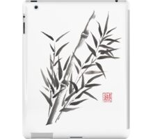 No doubt bamboo sumi-e painting iPad Case/Skin