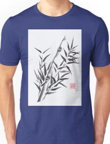 No doubt bamboo sumi-e painting Unisex T-Shirt