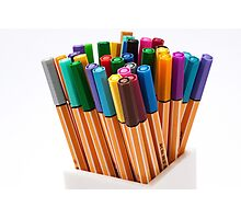 Stationery Photographic Print