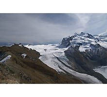 Cima di Jazzi and the Monte Rosa Photographic Print