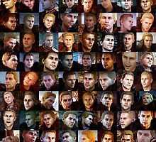 The Many Faces of Cullen by ThePyratQueen