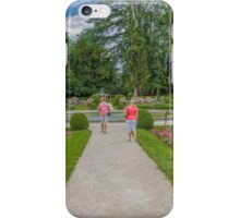 Garden of Diane de Poitiers, Chateau de Chenonceaux, Loire Valley, France #2 iPhone Case/Skin