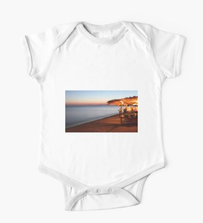 Blue hour in Lesvos One Piece - Short Sleeve