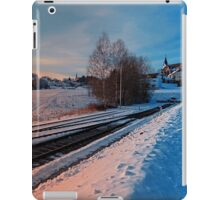 The end of the railroad | landscape photography iPad Case/Skin