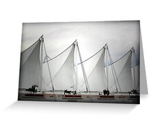 Rhythm of Pattern - Cruise Ship Terminal Vancouver Canada Greeting Card