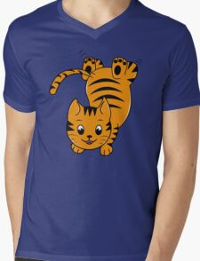 Yeah! Mens V-Neck T-Shirt