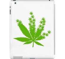 Cannabis from cannabis leaves  iPad Case/Skin