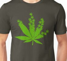 Cannabis from cannabis leaves  Unisex T-Shirt