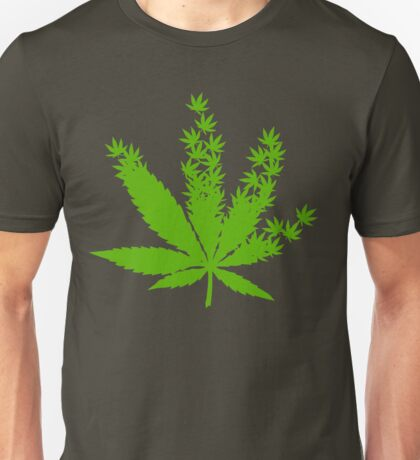 Cannabis from cannabis leaves  Unisex T-Shirt