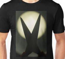 Scissors silhouette photo Unisex T-Shirt