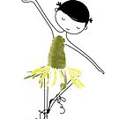Dancing Daisy by Holly Hatam