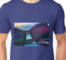Womens sunglasses on colors silhouette photo Unisex T-Shirt