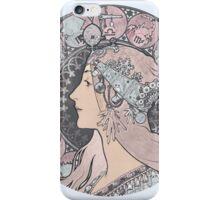 Alphonse Mucha Zodiac Goddess iPhone Case/Skin