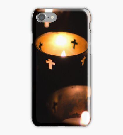 Church Candles - Catholic Votives iPhone Case/Skin