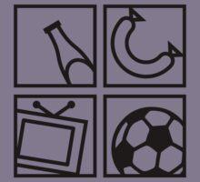 Soccer Elements Kids Clothes