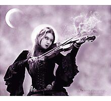 Sad Melody Photographic Print