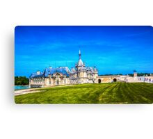Chateau de Chantilly 3 Canvas Print