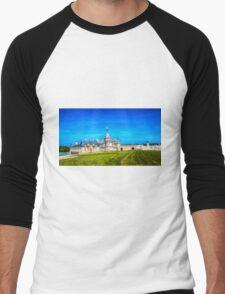 Chateau de Chantilly 3 Men's Baseball ¾ T-Shirt