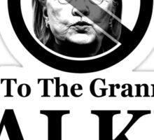 No Granny State - Walker Sticker