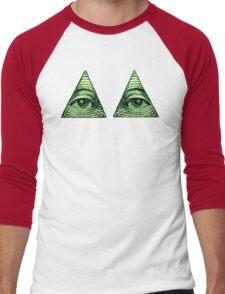 All Seeing Eye's Men's Baseball ¾ T-Shirt