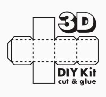 3D Do it Yourself Kit Kids Clothes