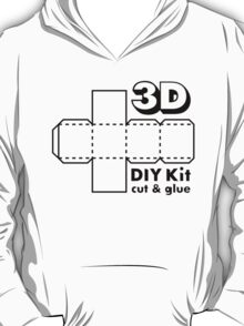 3D Do it Yourself Kit T-Shirt