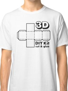 3D Do it Yourself Kit Classic T-Shirt