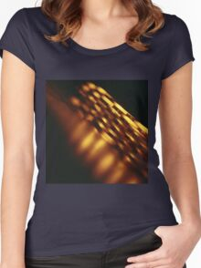 Gold bullion 999.9 coins still life square Hasselblad medium format  c41 color film analogue photograph Women's Fitted Scoop T-Shirt