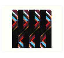 Folding Ribbon Art Print