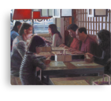 Chinese Restaurant Canvas Print