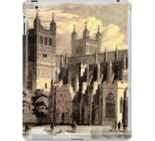 Exeter Cathedral, England founded 1050 - all products iPad Case/Skin