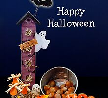 Halloween Spook House by Sheryl Kasper