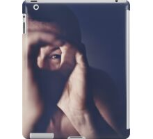 Self portrait photographer Edward Olive ra4 darkroom handmade print c41 color negative analog film photo iPad Case/Skin