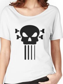 Bass guitar and skull Women's Relaxed Fit T-Shirt
