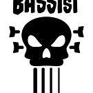 Bassist and skull by chrisbears