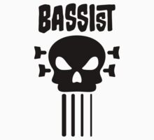 Bassist and skull Kids Clothes