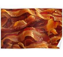 Mmm, Bacon Strips Poster