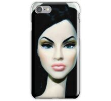 Doll with lashes iPhone Case/Skin