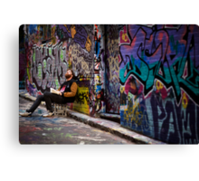 Alley life - Graffiti  Melbourne Canvas Print